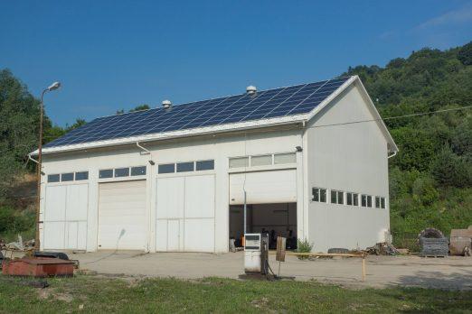 Lipowica, zakład produkcyjny, 50 kW