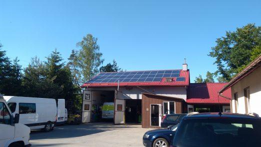 Lipie, warsztat samochodowy, 10 kW